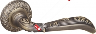 Ручка раздельная Fuaro (Фуаро) BOHEMIA SM MAB-6 темная бронза