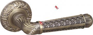 Ручка раздельная Fuaro (Фуаро) LORD SM MAB-6 темная бронза
