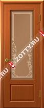 Межкомнатные двери Ульяновские двери Валенсия (Стекло Темный Анегри)