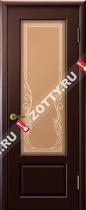 Межкомнатные двери Ульяновские двери Валенсия (Стекло Венге)