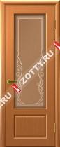 Межкомнатные двери Ульяновские двери Валенсия (Стекло Светлый Анегри)