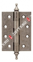 Петля универсальная ARMADILLO Castillo CL 500-A4 102х76х3,5 AS (Античное серебро)