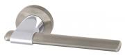 Ручка раздельная Armadillo (Армадилло) AJAX URB1 SN/CP-3 Мат никель/хром