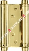 Петля пружинная двусторонняя ARMADILLO DAS SS 201-5 (125*86*1.5) GP (Золото)