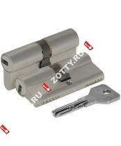 Цилиндровый механизм CISA ASIX OE300-29.12 (90 мм/40+10+40) (Никель)