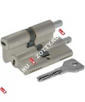Цилиндровый механизм под вертушку CISA ASIX OE302-07.12 (60 мм/25+10+25) (Никель)