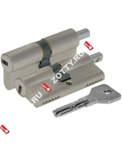 Цилиндровый механизм под вертушку CISA ASIX OE302-82.12 (70 мм/25+10+35) (Никель)