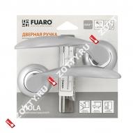 Ручка раздельная Fuaro (Фуаро) VIOLA RM/HD SC/CP-16 матовый хром/хром