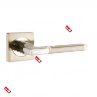 Ручка раздельная Ajax (Аякс) POLO JK SN/CP-3 матовый никель/хром