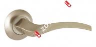 Ручка раздельная Ajax (Аякс) GLORIA JR SN/CP-3 матовый никель/хром
