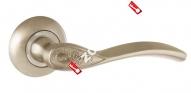 Ручка раздельная Ajax (Аякс) SILVA JR SN/CP-3 матовый никель/хром