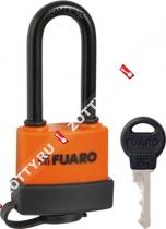 Замок навесной Fuaro PL-3640 LS (40 мм) 3 англ. кл. (удлененная дужка) БЛИСТЕР