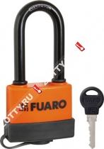 Замок навесной Fuaro PL-3660 LS (60 мм) 3 англ. кл. (удлененная дужка) БЛИСТЕР