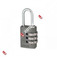 Навесной кодовый замок ABUS 145/20 (Матовый никель)