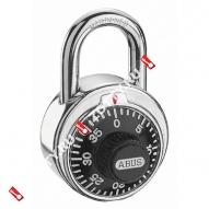 Навесной кодовый замок ABUS 78/50 (Хром)