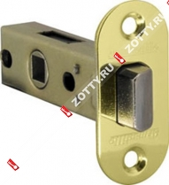 Защелка врезная ARMADILLO LH 220-45-25 GP (бывш. PB) /овал/ (Золото)