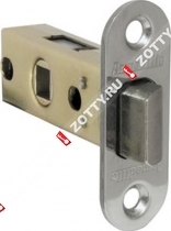 Защелка врезная ARMADILLO LH 220-45-25 CP /овал/ (Хром)