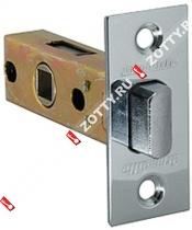 Защелка врезная ARMADILLO LH 120-45-25 CP BOX /прям/ (Хром)