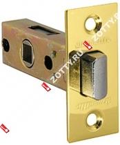 Защелка врезная ARMADILLO LH 120-45-25 GP BOX /прям/ (Золото)