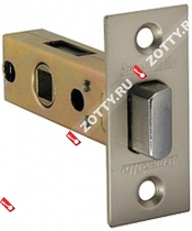 Защелка врезная ARMADILLO LH 120-45-25 SN BOX /прям/ (Матовый никель)