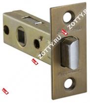 Защелка врезная ARMADILLO LH 120-45-25 WAB BOX /прям/ (Матовая бронза)