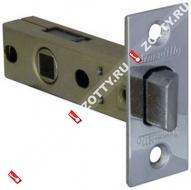 Защелка врезная ARMADILLO LH 120-50-25 CP SKIN /прям/ (Хром)