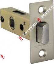 Защелка врезная ARMADILLO LH 120-50-25 SN SKIN /прям/ (Матовый никель)