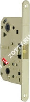 Защелка межкомнатная с планкой ARMADILLO LH19-50 GP BOX (Золото)