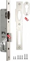 Корпус узкопрофильного замка с роликом FUARO 155-20 CP (Хром)