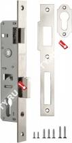 Корпус узкопрофильного замка с защелкой FUARO меж. осев. расcт. 85 мм 153-25/85 CP (Хром)