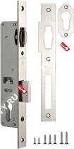 Корпус узкопрофильного замка с роликом FUARO 155-25 CP (Хром)