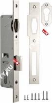 Корпус узкопрофильного замка с роликом FUARO 155-30 CP (Хром)