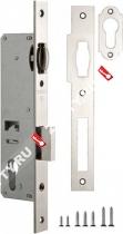 Корпус узкопрофильного замка с роликом FUARO 155-35 CP (Хром)
