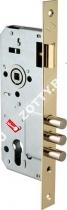 Корпус замка врезного цилиндрового KALE KILIT 194/3MR (45 mm) w/b (Латунь)