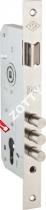Корпус замка врезного цилиндрового KALE KILIT 152/3MR (45 mm) w/b (Никель)