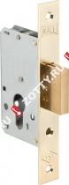 Корпус замка врезного цилиндрового KALE KILIT 157 (35 mm) w/b (Латунь)