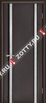 Межкомнатные двери Ульяновские двери ТЕХНО 2 Венге