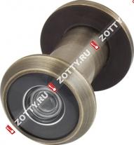 Глазок дверной ARMADILLO с пластиковой оптикой DV1 16/35х60 AB (Бронза)