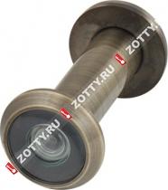 Глазок дверной ARMADILLO с пластиковой оптикой DV2 16/55х85 AB