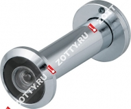 Глазок дверной Fuaro с пластиковой оптикой DVZ2 16/200/60x100 CP