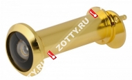 Глазок дверной БУЛАТ ГД 05.16.05 ЦП(50-75мм) золото (Золото)