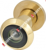 Глазок дверной Armadillo, стеклянная оптика DVG1 16/35х60 GP (Золото)