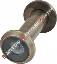 Глазок дверной Armadillo, стеклянная оптика DVG2 16/55х85 AB