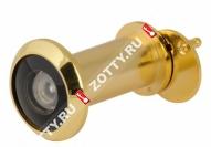 Глазок дверной БУЛАТ ГД 06.16.05 ЛС(35-60мм) (Золото)