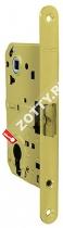 Замок межкомнатный ARMADILLO под цилиндрический механизм с планкой LH40-50 SG BOX (Матовое золото)