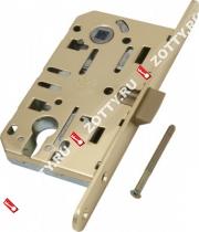 Замок межкомнатный AGB под цилиндрич. механизм B01103.50.03 (Латунь)
