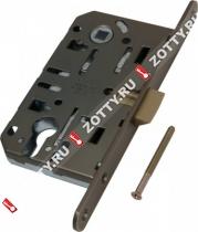 Замок межкомнатный AGB под цилиндрич. механизм B01103.50.12 (Бронза)