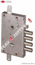 Замок врезной сувальдный NEW CAMBIO BASIC 57.665.48 (тех. упаковка), ключ 64 мм