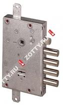 Замок врезной сувальдный CISA NEW CAMBIO FACILE 57.665.48 тех упаковка, ключ 44 мм