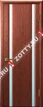 Межкомнатные двери Ульяновские двери ТЕХНО 2 Красное Дерево